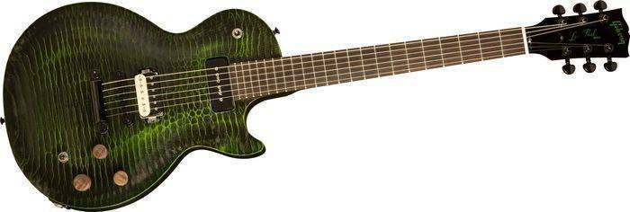 Gibson Les Paul Bfg Gator Green Long Mcquade Musical Instruments