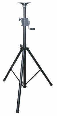 odyssey tripod speaker stand with crank long mcquade musical instruments. Black Bedroom Furniture Sets. Home Design Ideas