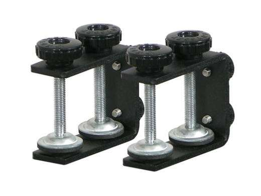 Table/Case Laptop Stand Clamps - Black