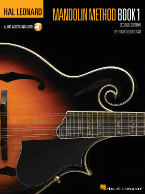 Hal Leonard Mandolin Method Book 1 - DelGrosso - Mandolin - Book/Audio Online