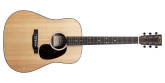 Martin Guitars - D-10E Road Dreadnought Acoustic-Electric Guitar with Gig Bag