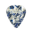 Taylor Guitars - Premium 351 Thermex Ultra Picks, Blue Swirl, 1.25mm, 24-Pack
