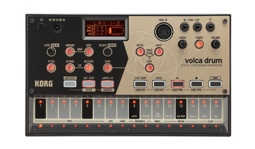 Volca Drum - Digital Percussion Synthesizer