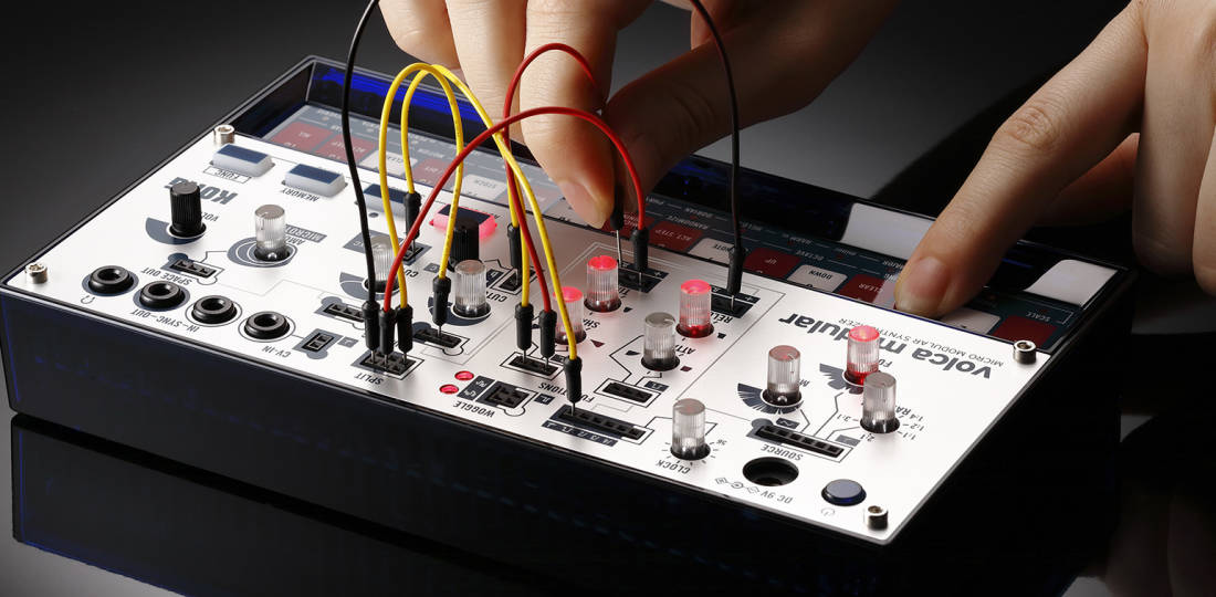 korg volca modular micro modular synthesizer long mcquade musical instruments. Black Bedroom Furniture Sets. Home Design Ideas
