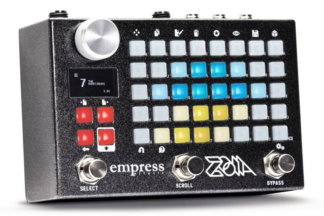 empress effects zoia modular synth pedal long mcquade musical instruments