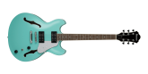 Ibanez - AS63 Artcore Vibrante Semi-Hollow Guitar - Sea Foam Green