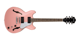 Ibanez - AS63 Artcore Vibrante Semi-Hollow Guitar - Coral Pink