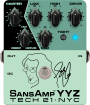 Tech 21 - Geddy Lee Signature SansAmp YYZ Preamp Pedal