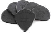 Dunlop - Jazz III XL Guitar Picks (1.38) - Black Nylon - Pack of 6