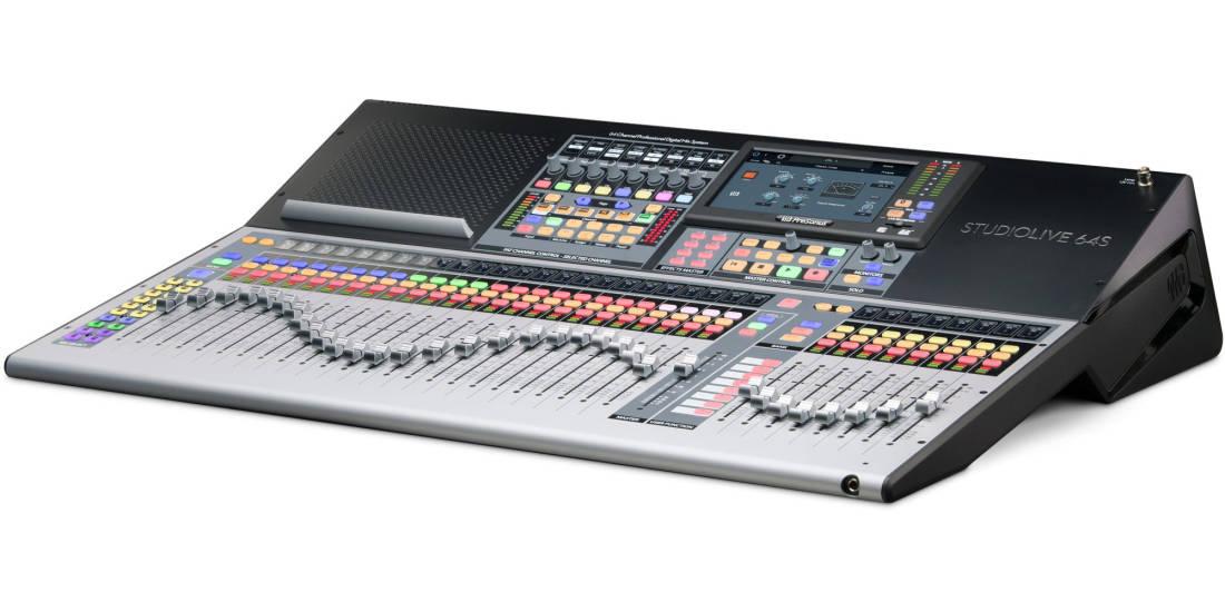 Presonus - StudioLive 64S - 64-Channel Digital Mixer and USB Audio Interface