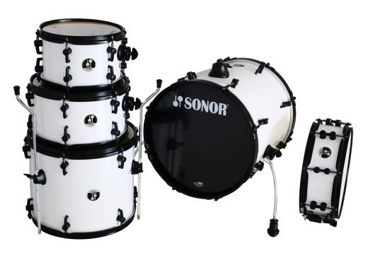 Pocket 5-Piece Drum Kit - White