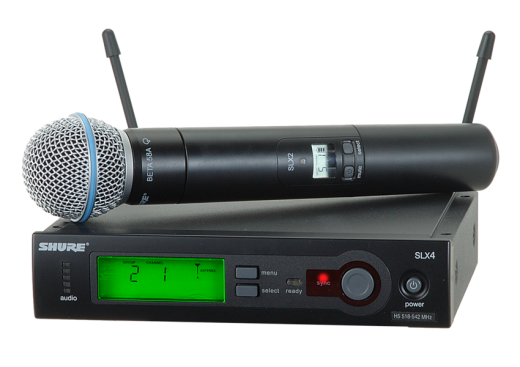 SLX24/BETA58A SLX Series Wireless Microphone System
