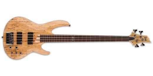 ESP Guitars - LTD B-204SM Fretless Bass - Natural Satin