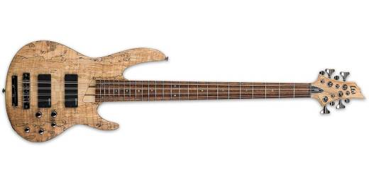 ESP Guitars - LTD B-208SM 8-String Bass - Natural Satin