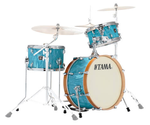 Superstar Classic Neo-Mod 3-Pc Shell Pack (20,12,14) - Turquoise Satin Haze