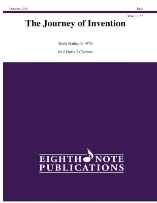 The Journey of Invention - Marlatt - Woodwind Quartet - Gr. Easy