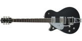 Gretsch Guitars - G6128TLH Players Edition Jet FT with Bigsby, Left-Handed, Rosewood Fingerboard - Black