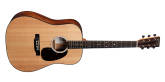 Martin Guitars - D-10E Road Series Dreadnought Sapele Acoustic/Electric with Gig Bag