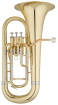 Eastman Winds - EEP321 3-Valve Euphonium - Lacquered Brass