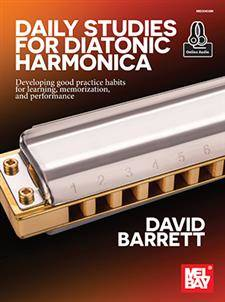 Daily Studies for Diatonic Harmonica - Barrett - Book/Audio Online
