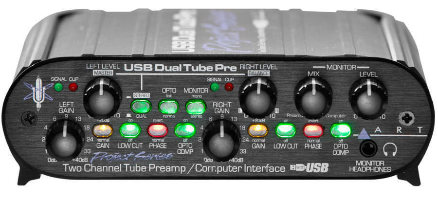 Art Tube Mp Usb Project Series Review