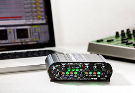 art pro audio 2 channel tube preamp usb interface long mcquade musical instruments. Black Bedroom Furniture Sets. Home Design Ideas