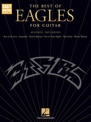 The Best of Eagles for Guitar (Updated Edition) - Easy Guitar TAB - Book