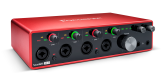 Focusrite - Scarlett 18i8 3rd Generation 18-in, 8-out USB Audio Interface