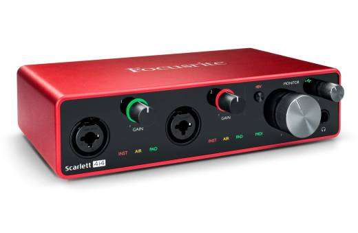 Scarlett 4i4 3rd Generation 4-in, 4-out USB Audio Interface