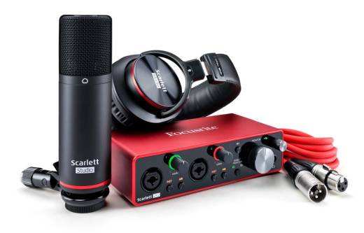 Scarlett 2i2 Studio 3rd Gen w/Mic and Headphones