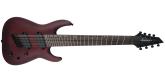 Jackson Guitars - X Series Dinky Arch Top DKAF8 MS, Laurel Fingerboard - Multi-Scale, Stained Mahogany