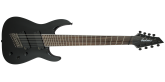 Jackson Guitars - X Series Soloist Arch Top SLAT8 MS, Laurel Fingerboard, Multi-Scale - Gloss Black