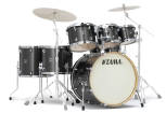 Tama - Superstar Classic Shell Pack (22,8,10,12,14,16,SD) - Midnight Gold Sparkle