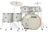 Tama - Superstar Classic Shell Pack (22,8,10,12,14,16,SD) - Vintage White Sparkle