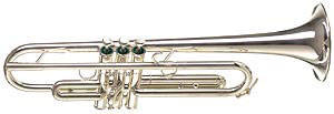 B-1L Bb Trumpet with Tuning Bell