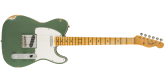 Fender Custom Shop - 1965 Telecaster Custom Relic, Maple Fingerboard - Faded Aged Sherwood Green Metallic