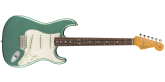 Fender Custom Shop - 1965 Stratocaster Journeyman Relic, Rosewood Fingerboard - Aged Teal Green Metallic