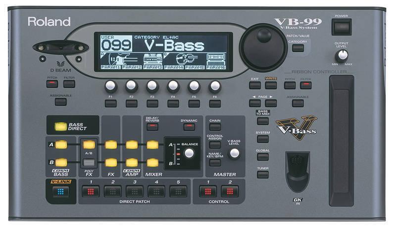 roland vb 99 v bass system long mcquade musical instruments. Black Bedroom Furniture Sets. Home Design Ideas