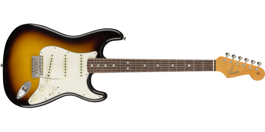 1965 Stratocaster Journeyman Relic, Rosewood Fingerboard -  Faded 3-Color Sunburst
