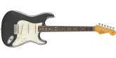 Fender Custom Shop - 1965 Stratocaster Journeyman Relic, Rosewood Fingerboard - Aged Charcoal Frost Metallic