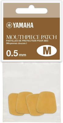 Mouthpiece Patch - Medium - Tan - 0.5mm
