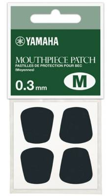 Mouthpiece Patch - Medium - Black - 0.3mm