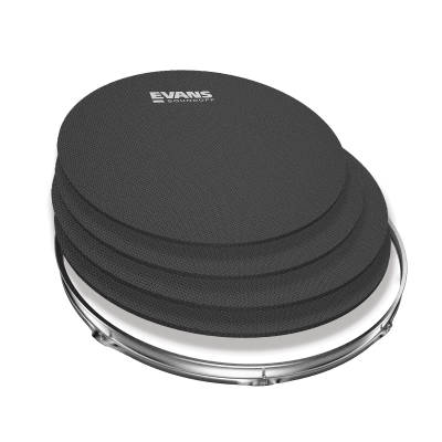 SoundOff Drum Silencers - Rock Pack for Toms (10,12,14,16)