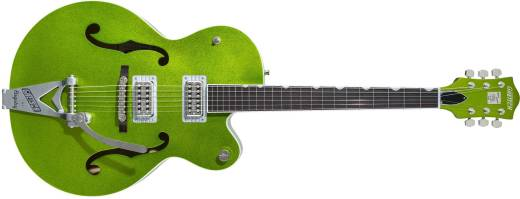 G6120T-HR Brian Setzer Signature Hot Rod Hollow Body with Bigsby - Extreme Coolant Green Sparkle