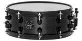 MPX Maple Snare 14 x 5.5 inch - Transparent Midnight Black