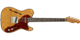 Fender Custom Shop - Artisan Maple Burl Thinline Telecaster