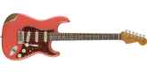 Fender Custom Shop - 2018 Limited Edition 60 Roasted Stratocaster Heavy Relic - Faded Aged Fiesta Red
