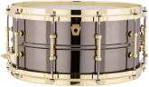 Ludwig Drums - Black Beauty Brass Snare with Tube Lugs - 6.5x14