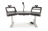 Argosy - HALO Ultimate Workstation Desk - Hautelink Finish