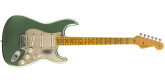Fender Custom Shop - 2019 Limited Edition 55 Dual-Mag Strat Journeyman Relic - Super Faded Aged Sherwood Green Metallic